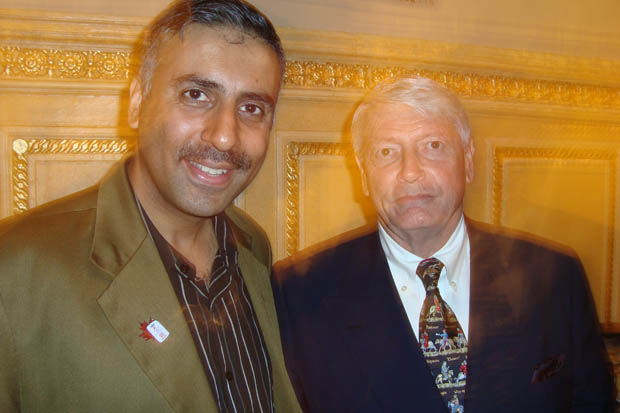 Dr.Abbey with Billionaire John Malone Chairman of Liberty Media