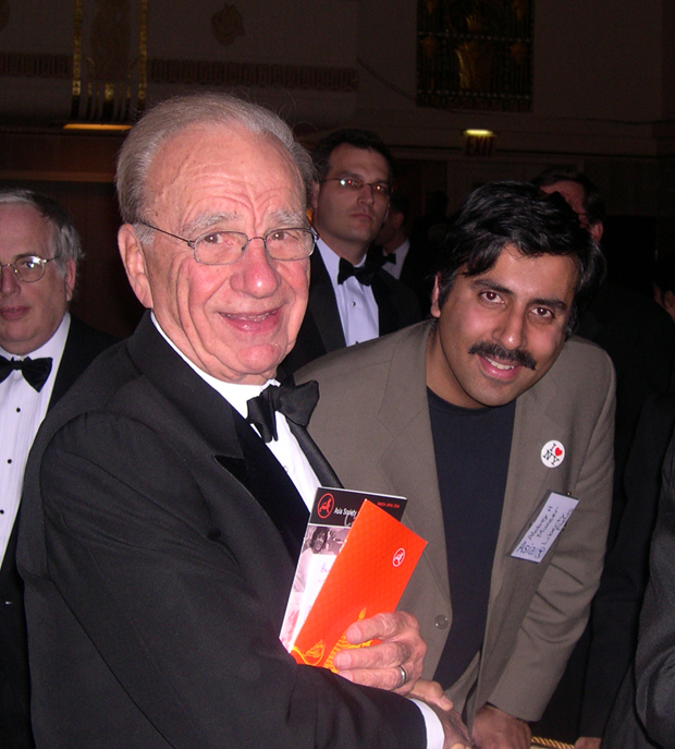 Dr.Abbey with Billionaire Rupert Murdoch Chairman Newscorp