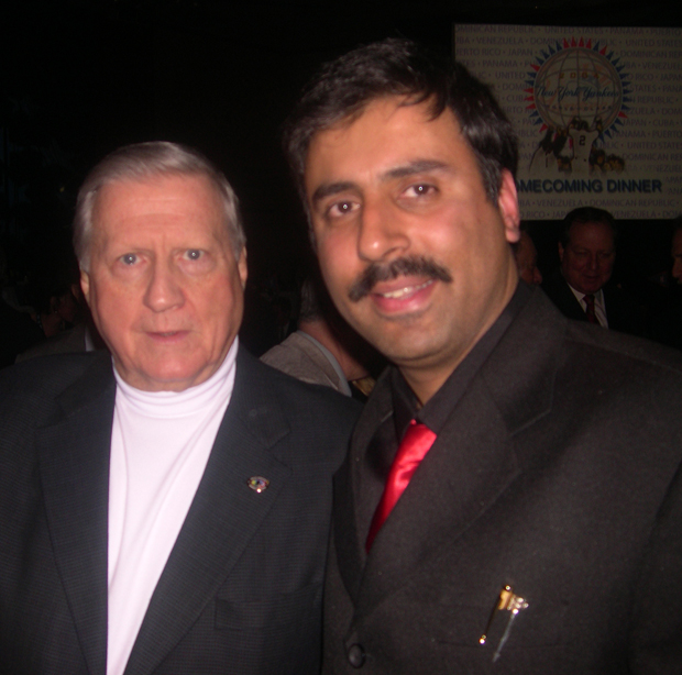 Dr.Abbey with George Steinbrenner  Owner of NY Yankees