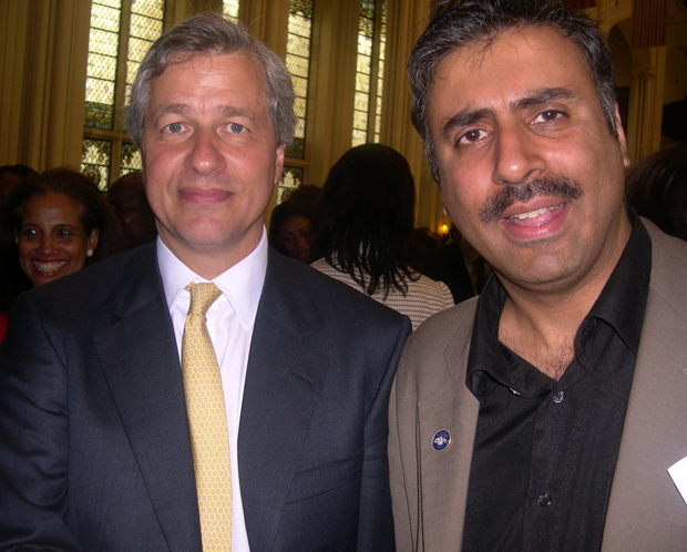 Dr.Abbey with James Dimon Chairman of JPMorgan Chase