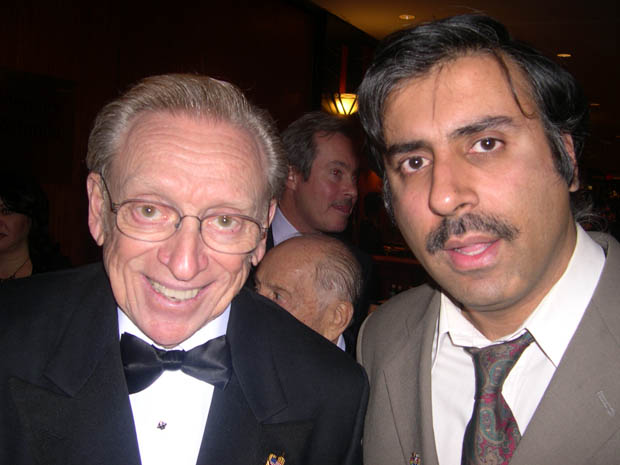 Dr.Abbey with Larry Silverstein Developer