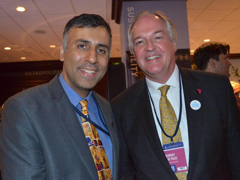 Dr.Abbey with Paul Polman CEO Unilever