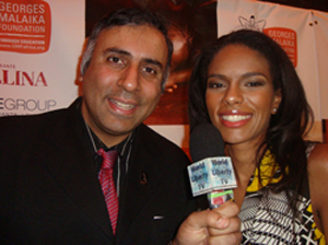 1Dr.Abbey with Noella Coursaris Musunka Founder of Georges Malaika Foundation