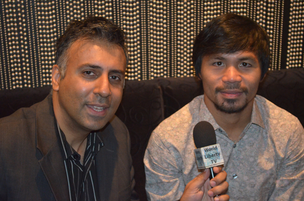 Dr Abbey Interviewing Boxing Great Manny Pacquiao