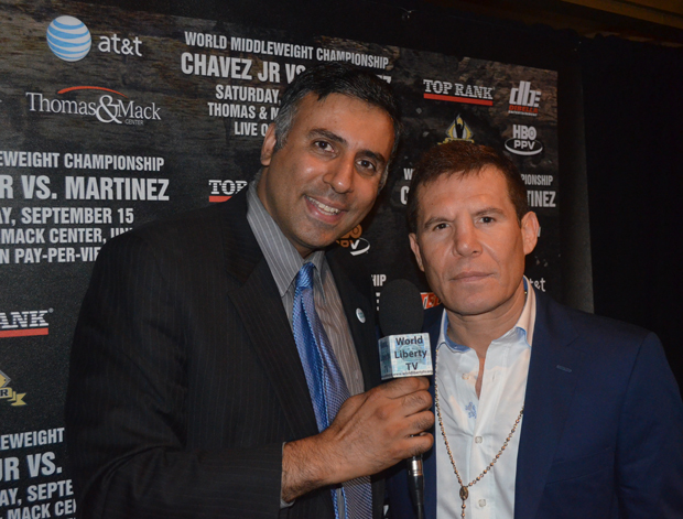 Dr Abbey Julio Cesar Chavez Boxing great from Mexico
