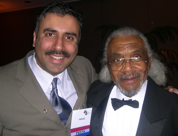 Dr. Abbey with Jefferson Evans 1st Pioneer Black Chef of USA