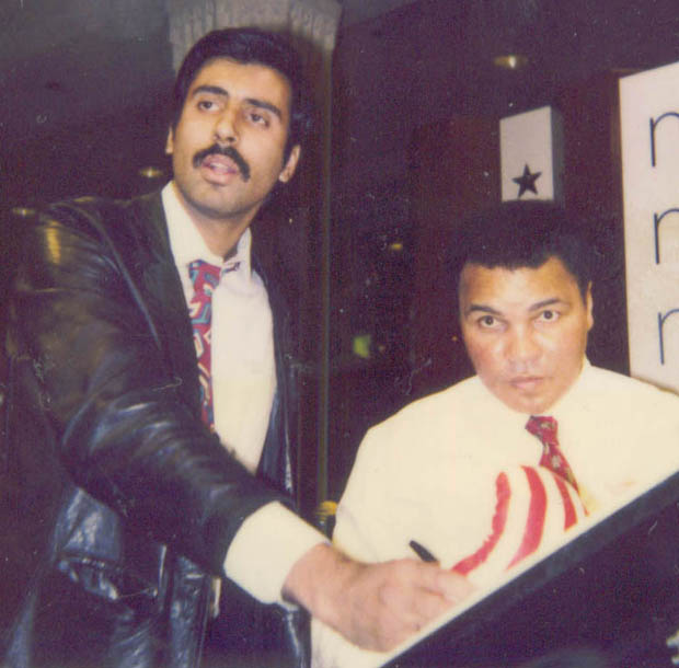 Dr. Abbey with Muhammad Ali The Greatest