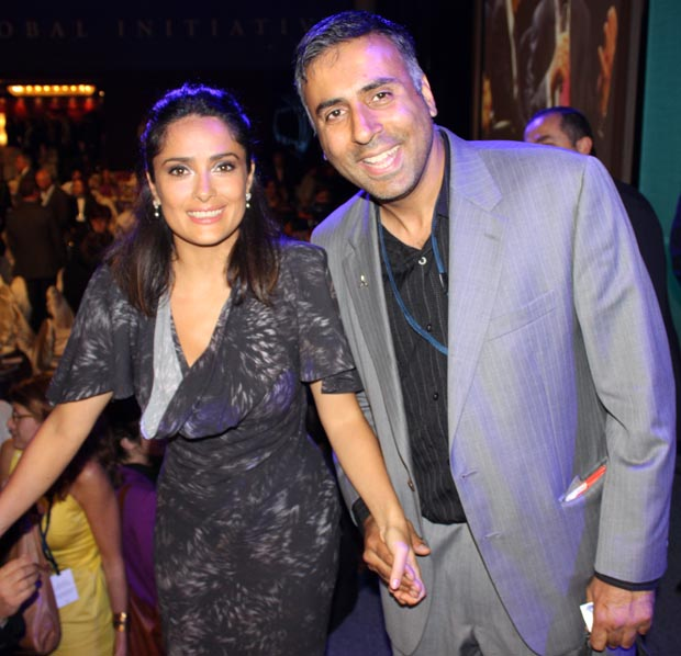 Dr. Abbey with Salma Hayek Actress