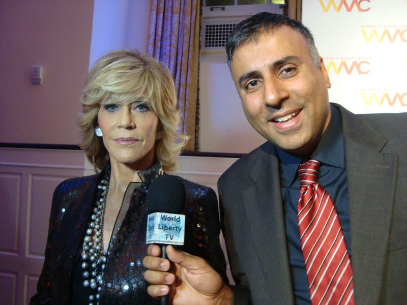 Dr.Abbey with 2 Time Academy Award winner Jane Fonda