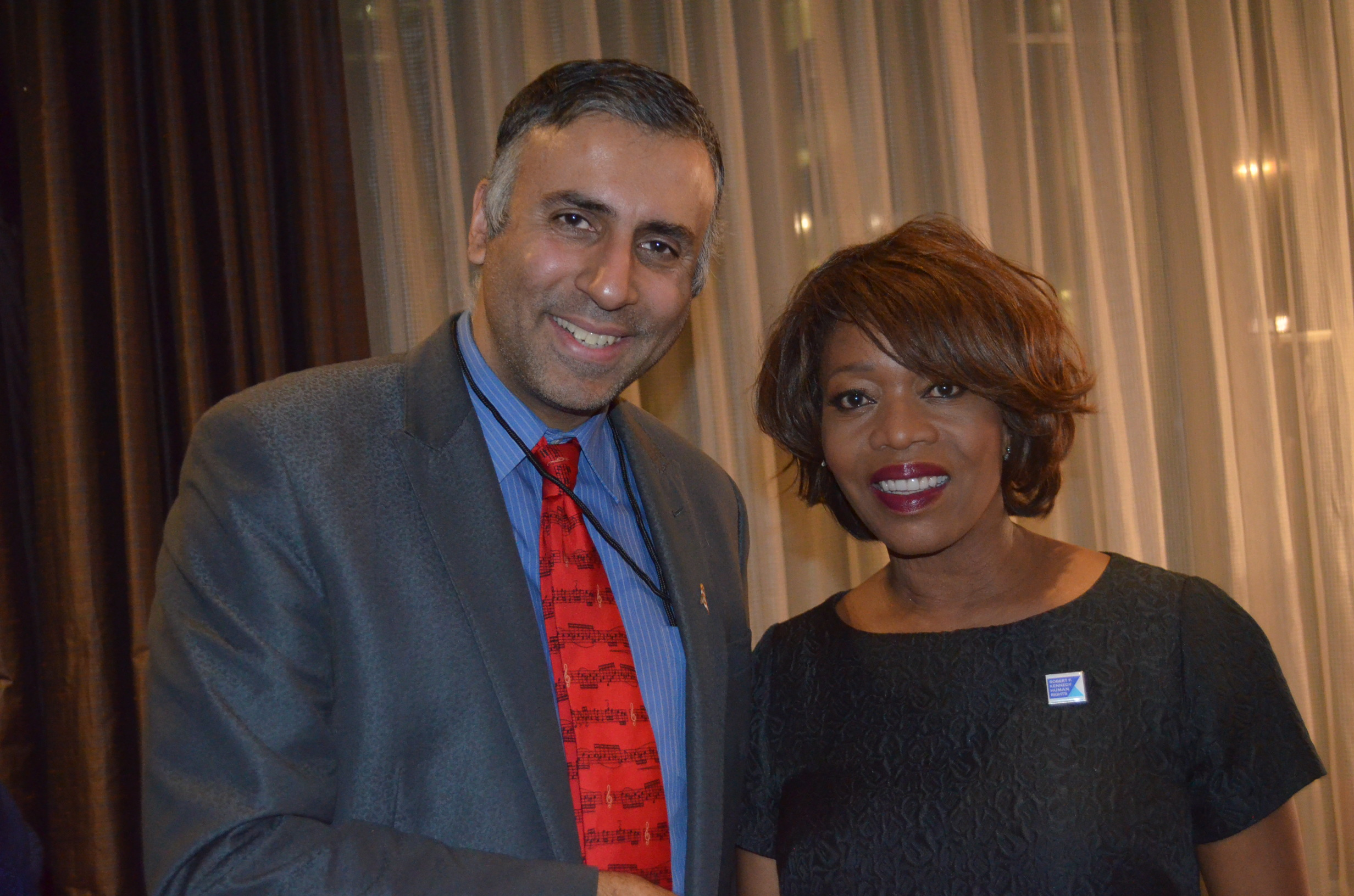 Dr.Abbey with Alfre Woodard Actress