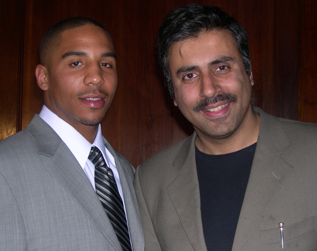 Dr.Abbey with Andre Ward World Boxing Champion