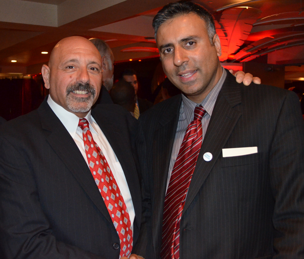 Dr.Abbey with Andy Polizzi, Father of Snooki & Boxing Promoter