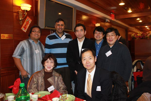 Dr.Abbey with Asian Business leaders