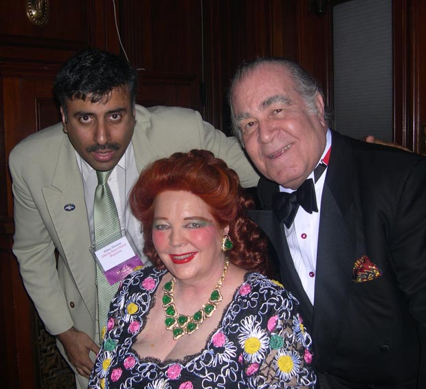 Dr.Abbey with Baroness W. Langer Von Langendorff and her husband