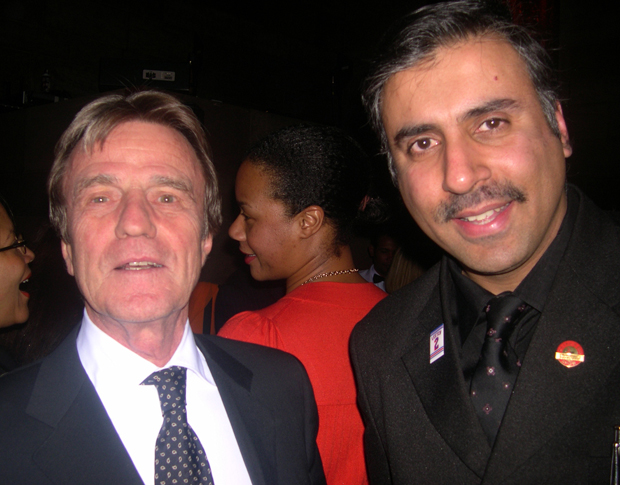 Dr.Abbey with Bernard Kouchner,French Minister of Foreign & European Affairs