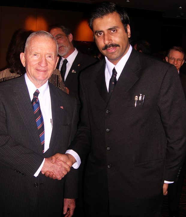Dr.Abbey with Billionaire Ross Perot Founder of Electronic Data