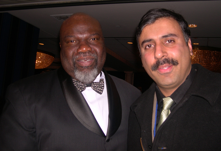 Dr.Abbey with Bishop T.D.Jakes