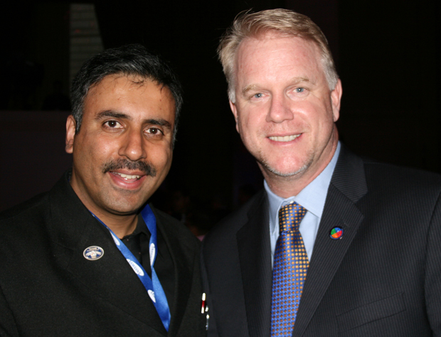 Dr.Abbey with Boomer Esiason Former NFL Player
