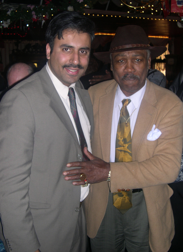 Dr.Abbey with Boxing Great Joe Frazier