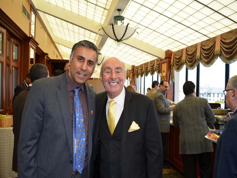 Dr.Abbey with Boxing Promoter Dennis Rappaport
