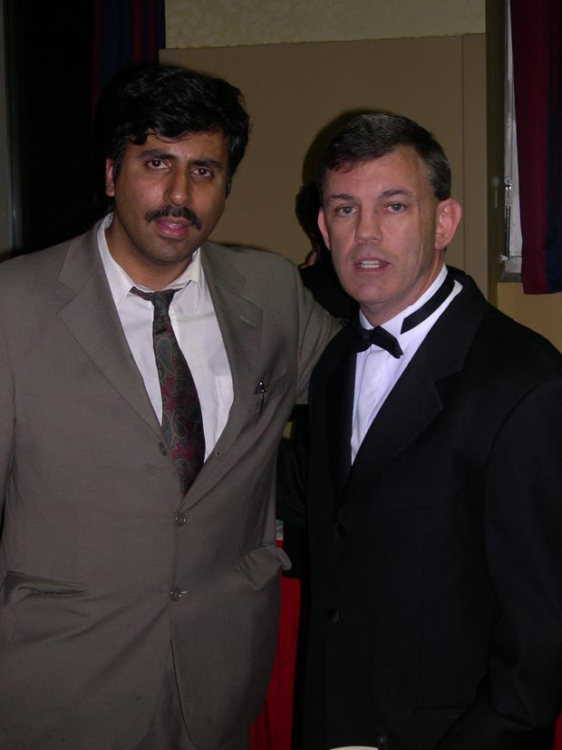 Dr.Abbey with Boxing Trainer & ESPN Commentator Teddy Atlas