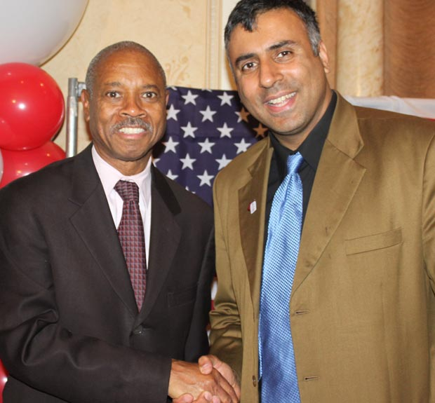 Dr.Abbey with Bronx DA, Robert Johnson