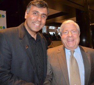 Dr. Abbey with Brooklyn Borough President Marty Markowitz