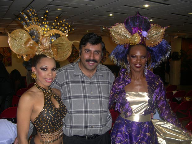 Dr.Abbey with Carnival Girls