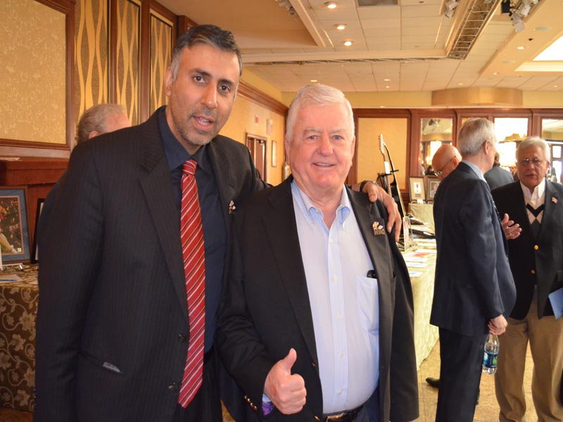 Dr.Abbey with Chuck Williams WBC member & Chair Special events
