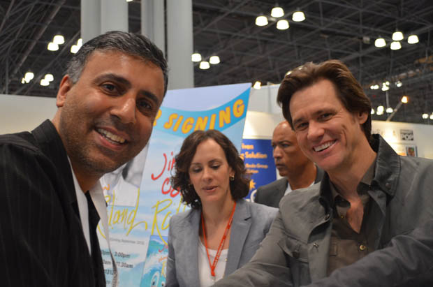 Dr.Abbey with Comedian Actor Jim Carey