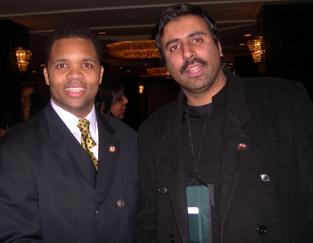 Dr.Abbey with Congress Member Jessie Jackson Jr
