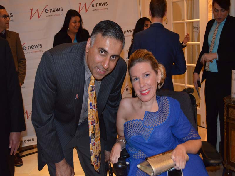 Dr.Abbey with Danielle Sheypuk Miss Wheel Chair 2016