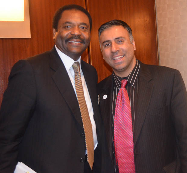 Dr.Abbey with David Steward, Chairman CEO of World Wide Technology