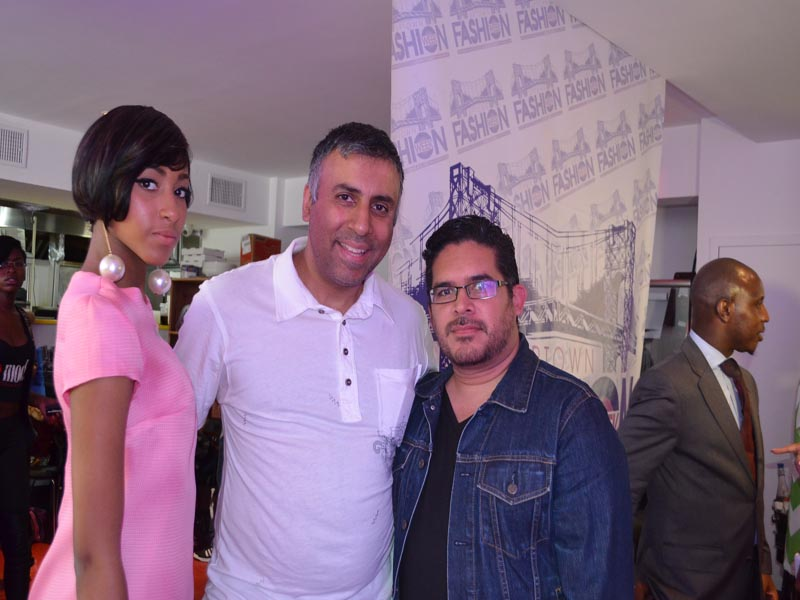 Dr.Abbey with Designer Victor Lopez & model