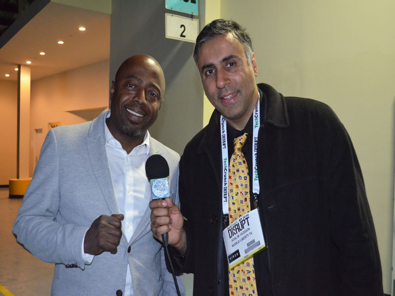 Dr.Abbey with Donnell Rawlings Comedian