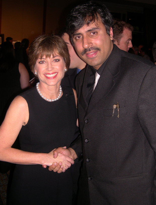 Dr.Abbey with Dorothy Hamill Olympic Skating Champion