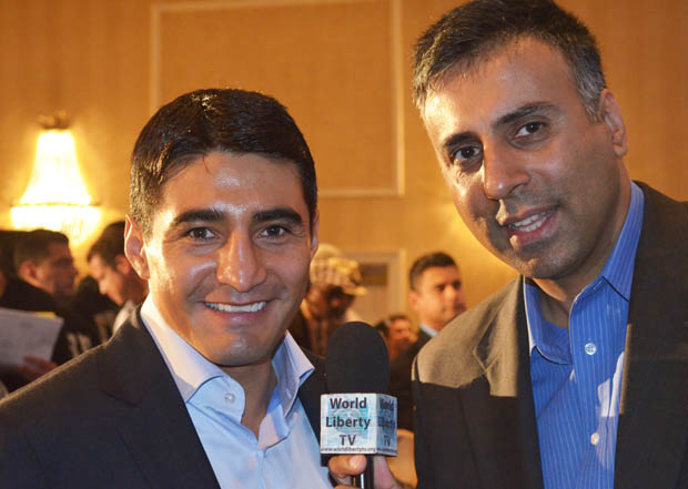 Dr.Abbey with Erik Morales 4 time World Boxing Champion