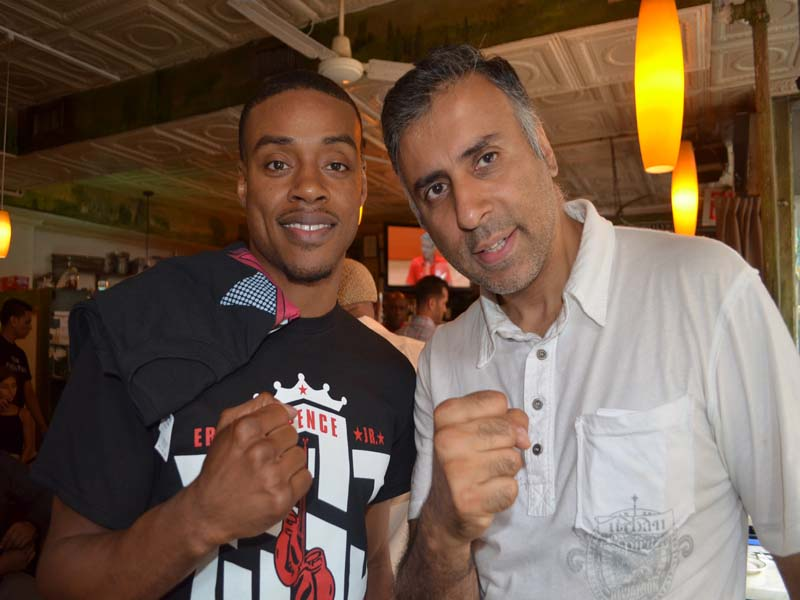 Dr.Abbey with Errol Spence Jr