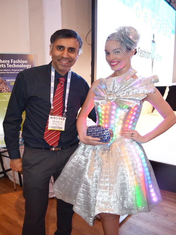 Dr.Abbey with Fashionware Model