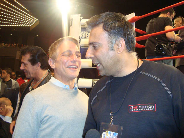 Dr.Abbey with Former Boxer Tony Danza