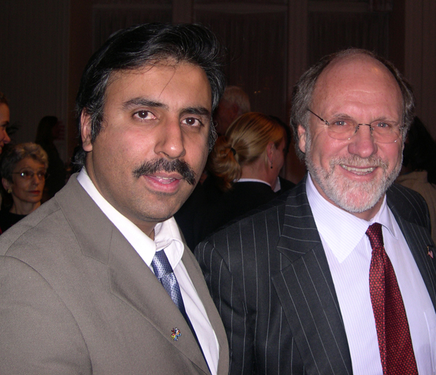 Dr.Abbey with Former  Gov of NJ John Corzine