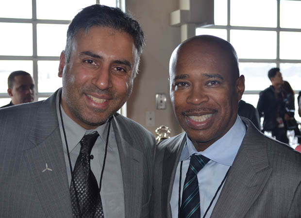 Dr.Abbey with Former  HBO Sports, senior vice president Kery Davis,
