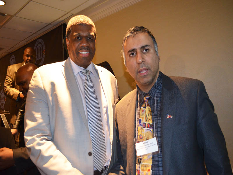 Dr.Abbey with Former Knicks Bernard King