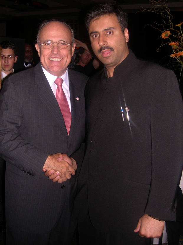 Dr.Abbey with Former   Mayor NYC Rudolph Guiliani