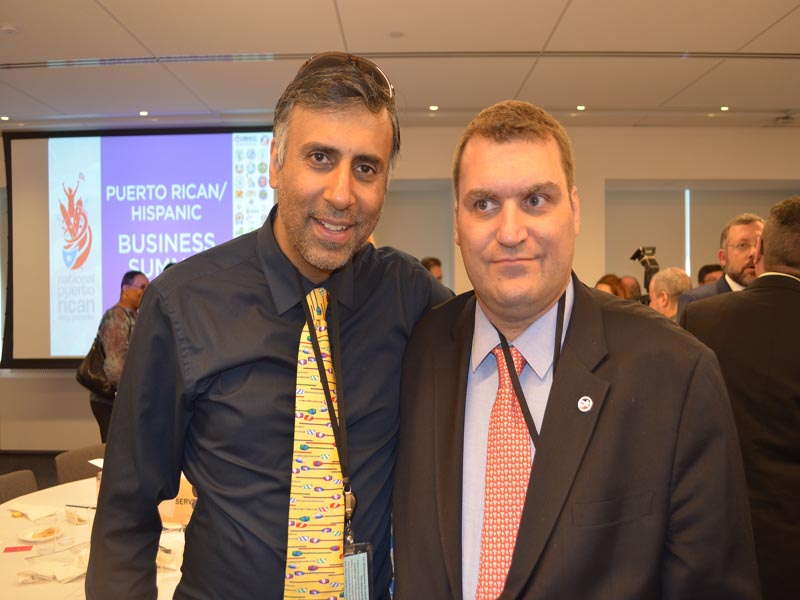 Dr.Abbey with Frank Garcia Chairman of NYSHCC & Organizer of Event