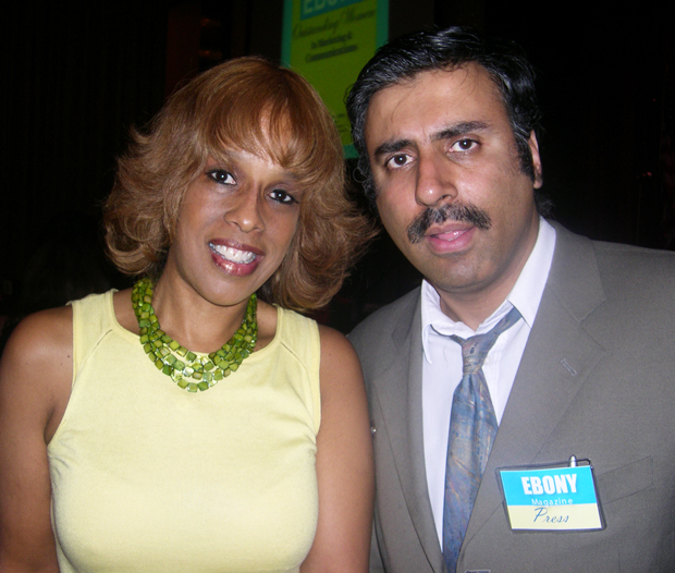 Dr.Abbey with Gayle king Editor-at Large O, The Oprah Magazine