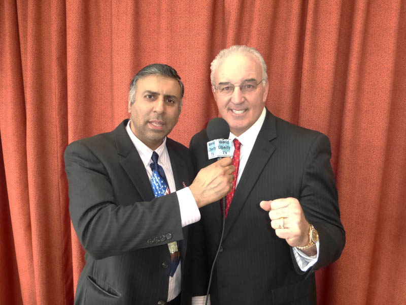 Dr.Abbey with Gerry Cooney