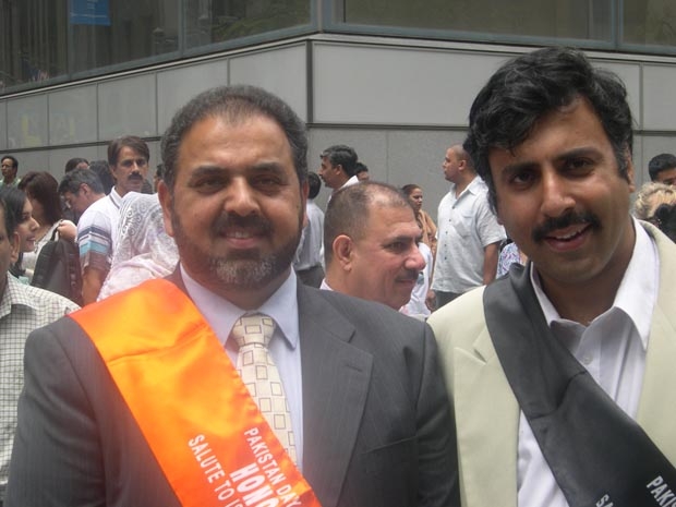 Dr.Abbey with Grand Marshal Lord Ahmed