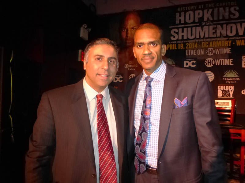 Dr.Abbey with Gregory A. O'Dell President Events DC
