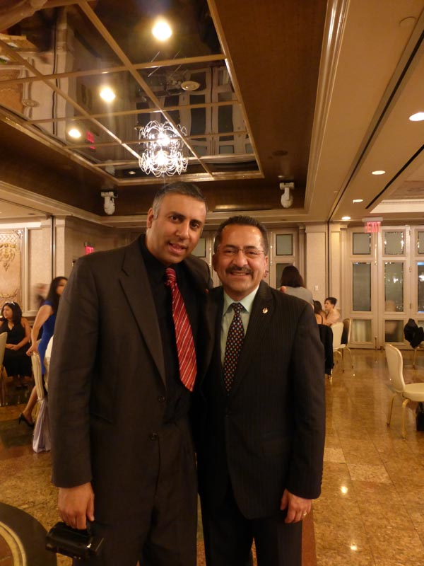 Dr.Abbey with Guillermo Chacon President LCA